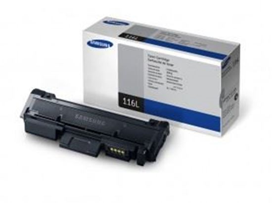 Picture of Samsung MLT-D116L High Yield Black Original Toner Cartridge (MLT-D116L/ELS Laser Toner)