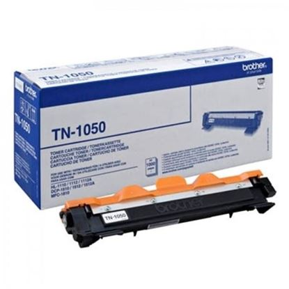 Picture of Brother TN-1050 Black Original Toner Cartridge (TN1050 Laser Toner)