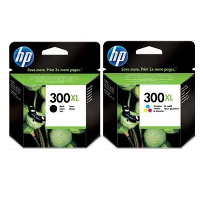 Picture of HP 300XL Black & Colour Original Ink Cartridge Combo Pack