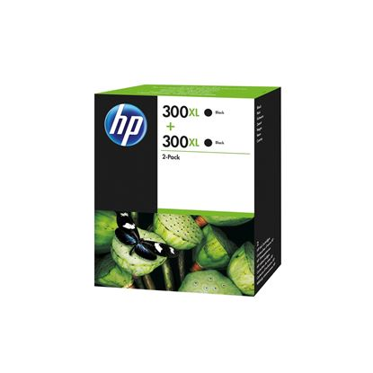 Picture of HP 300XL Black Original Ink Cartridge Twin Pack