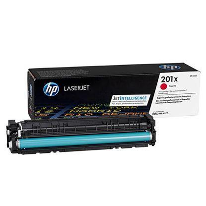 Picture of HP 201X High Yield Magenta Original Toner Cartridge (CF403X Laser Toner)