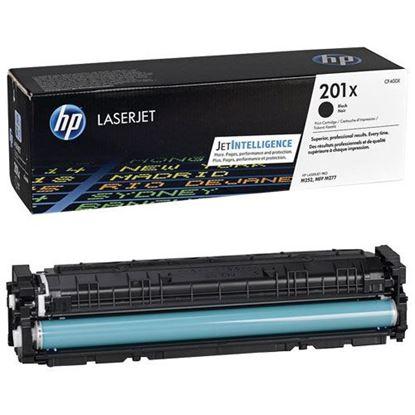 Picture of HP 201X High Yield Black Original Toner Cartridge (CF400X Laser Toner)