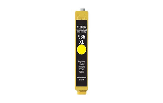 Picture of Red Bus Recycled 935XL High Yield Yellow (C2P26AE) Ink Cartridge (suitable for use in HP printers)