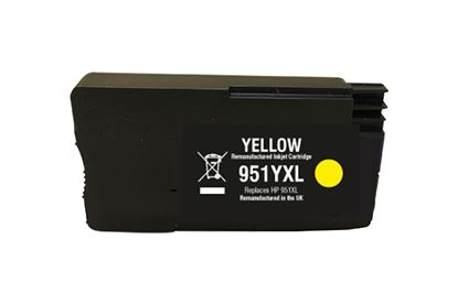 Picture of Red Bus Recycled 951XL High Yield Yellow (CN048AE) Ink Cartridge (suitable for use in HP printers)