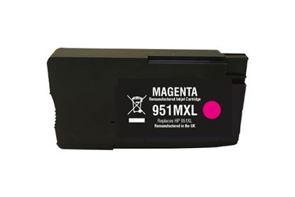 Picture of Red Bus Recycled 951XL High Yield Magenta (CN047AE) Ink Cartridge (suitable for use in HP printers)