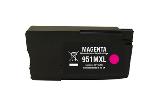 Picture of Red Bus Recycled HP 951XL High Yield Magenta (CN047AE) Ink Cartridge