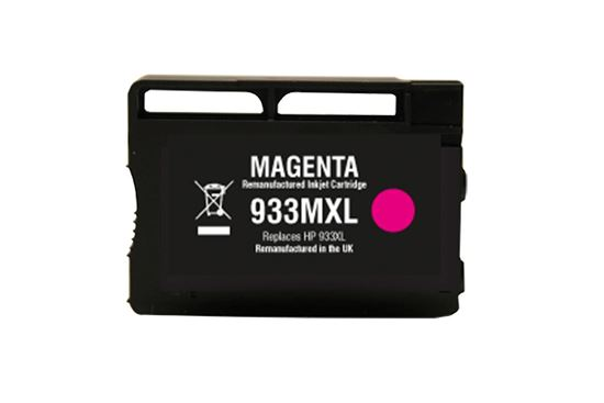 Picture of Red Bus Recycled HP 933XL High Yield Magenta (CN055AE) Ink Cartridge