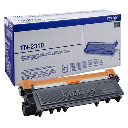 Picture of Brother TN-2310 Black Original Toner Cartridge (TN2310 Laser Toner)
