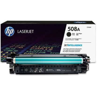 Picture of HP 508A Black Original Toner Cartridge (CF360A Laser Toner)