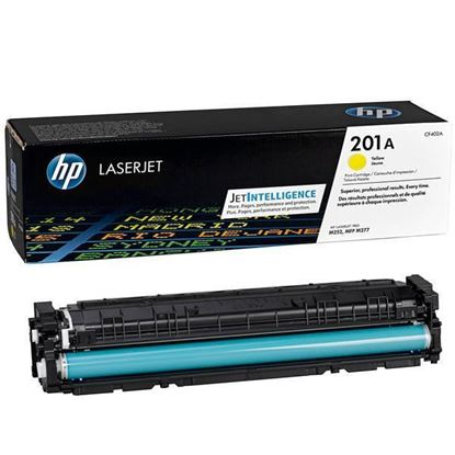 Picture of HP 201A Yellow Original Toner Cartridge (CF402A Laser Toner)