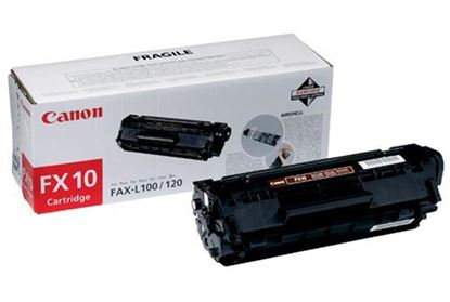 Picture of Canon FX-10 Black Original Toner Cartridge (FX10 Laser Toner)