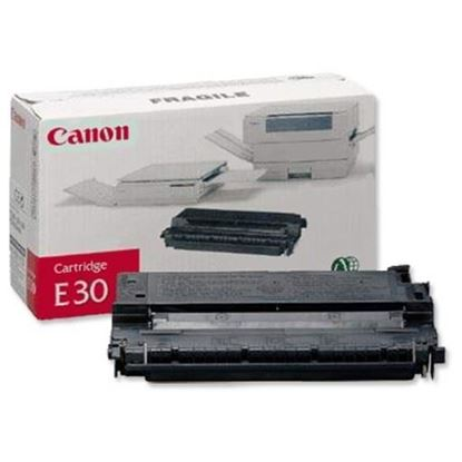 Picture of Canon E30 Black Original Toner Cartridge (E-30 Laser Toner)
