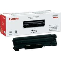 Picture of Canon CRG-728 Black Original Toner Cartridge (CRG728 Laser Toner)