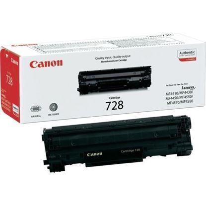 Picture of Canon CRG-728 Black Original Toner Cartridge (CRG728 Laser Toner)