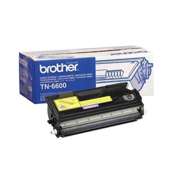 Picture of Brother TN-6600 High Yield Black Original Toner Cartridge (TN6600 Laser Toner)