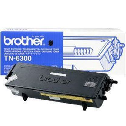 Picture of Brother TN-6300 Black Original Toner Cartridge (TN6300 Laser Toner)
