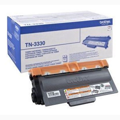 Picture of Brother TN-3330 Black Original Toner Cartridge (TN3330 Laser Toner)