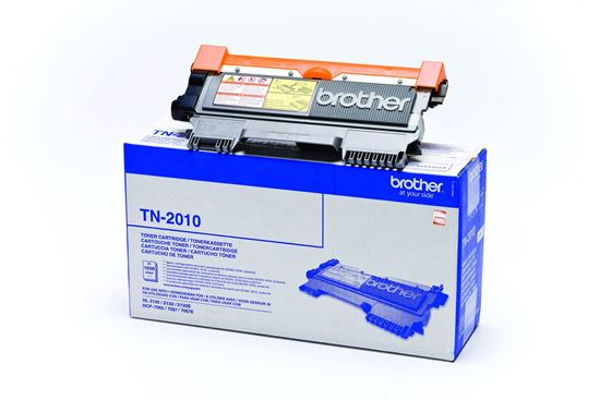 Picture of Brother TN-2010 Black Original Toner Cartridge (TN2010 Laser Toner)