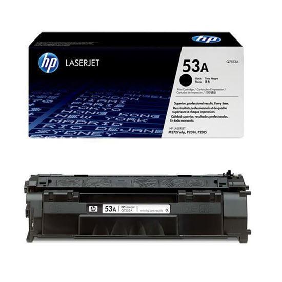 Picture of HP 53A Black Original Toner Cartridge (Q7553A Laser Toner)