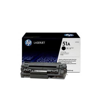 Picture of HP 51A Black Original Toner Cartridge (Q7551A Laser Toner)