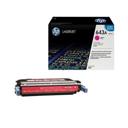 Picture of HP 643A Magenta Original Toner Cartridge (Q5953A Laser Toner)