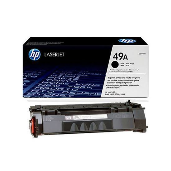 Picture of HP 49A Black Original Toner Cartridge (Q5949A Laser Toner)