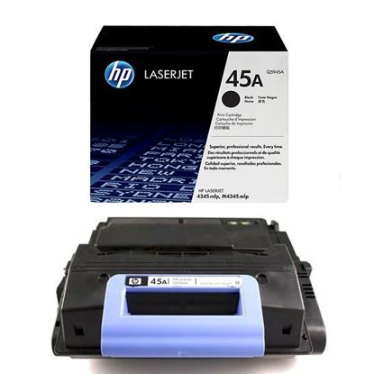 Picture of HP 45A Black Original Toner Cartridge (Q5945A Laser Toner)