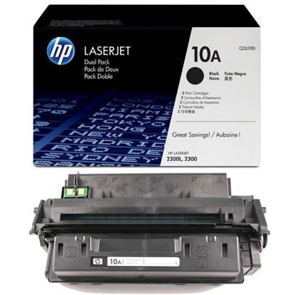 Picture of HP 10A Black Original Toner Cartridge (Q2610A Laser Toner)