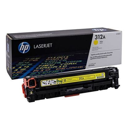 Picture of HP 312A Yellow Original Toner Cartridge (CF382A Laser Toner)