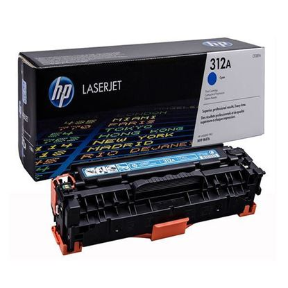 Picture of HP 312A Cyan Original Toner Cartridge (CF381A Laser Toner)