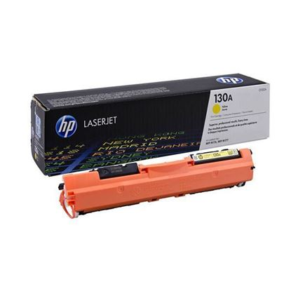 Picture of HP 130A Yellow Original Toner Cartridge (CF352A Laser Toner)