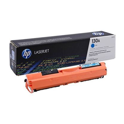 Picture of HP 130A Cyan Original Toner Cartridge (CF351A Laser Toner)