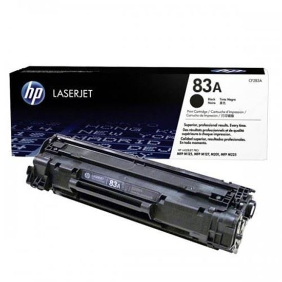 Picture of HP 83A Black Original Toner Cartridge (CF283A Laser Toner)