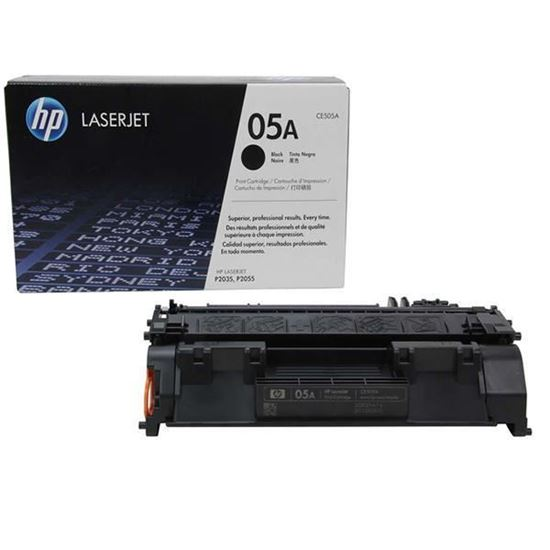 Picture of HP 05A Black Original Toner Cartridge (CE505A Laser Toner)