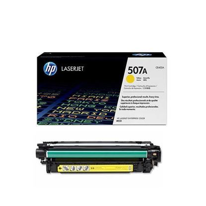 Picture of HP 507A Yellow Original Toner Cartridge (CE402A Laser Toner)
