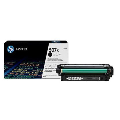 Picture of HP 507X High Yield Black Original Toner Cartridge (CE400X Laser Toner)