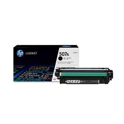 Picture of HP 507A Black Original Toner Cartridge (CE400A Laser Toner)