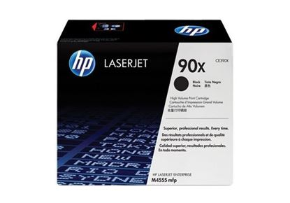Picture of HP 90X High Yield Black Original Toner Cartridge (CE390X Laser Toner)