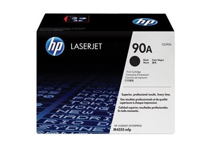 Picture of HP 90A Black Original Toner Cartridge (CE390A Laser Toner)