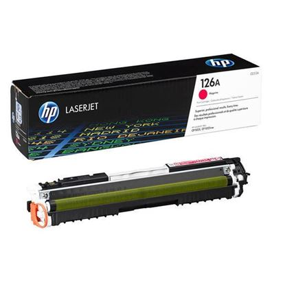 Picture of HP 126A Magenta Original Toner Cartridge (CE313A Laser Toner)