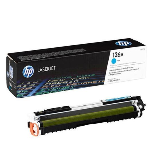 Picture of HP 126A Cyan Original Toner Cartridge (CE311A Laser Toner)