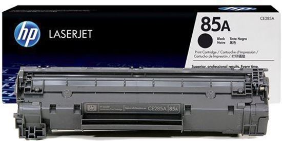 Picture of HP 85A Black Original Toner Cartridge (CE285A Laser Toner)