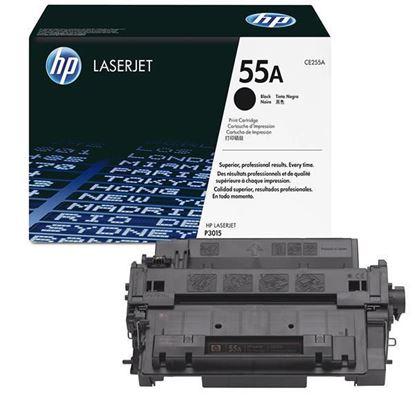 Picture of HP 55A Black Original Toner Cartridge (CE255A Laser Toner)