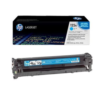 Picture of HP 125A Cyan Original Toner Cartridge (CB541A Laser Toner)