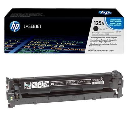 Picture of HP 125A Black Original Toner Cartridge (CB540A Laser Toner)