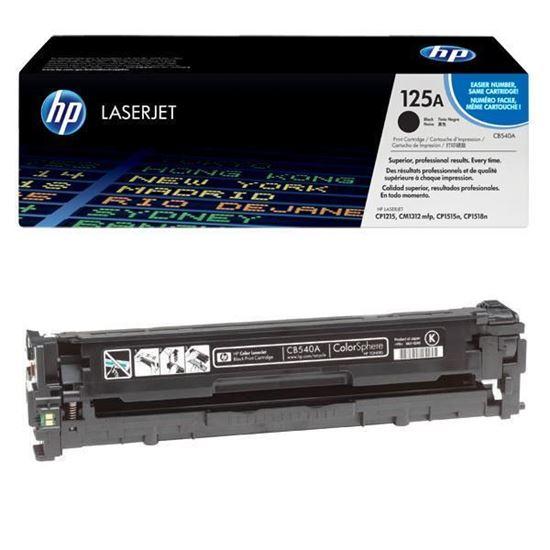 Picture of HP 125A Black Original Toner Cartridge (CB540A Laser Toner)