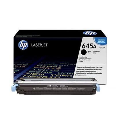 Picture of HP 645A Black Original Toner Cartridge (C9730A Laser Toner)
