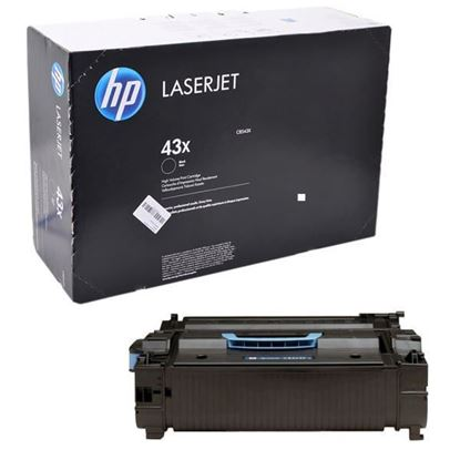 Picture of HP 43X High Yield Black Original Toner Cartridge (C8543X Laser Toner)
