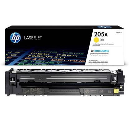 Picture of HP 205A Yellow Original Toner Cartridge (CF532A Laser Toner)