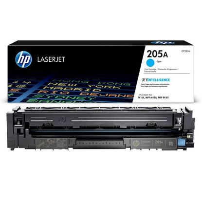 Picture of HP 205A Cyan Original Toner Cartridge (CF531A Laser Toner)